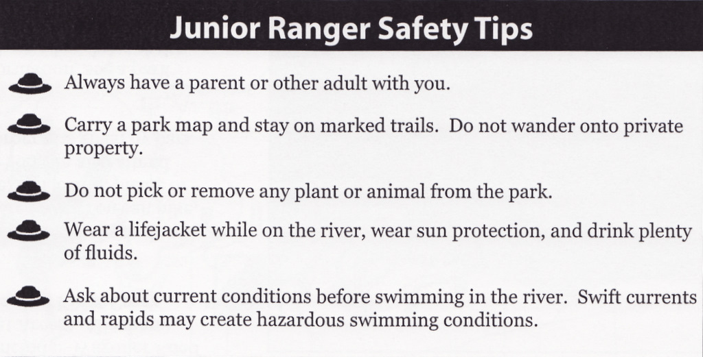 Jr Ranger Safety