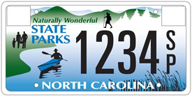 Friends of State Parks, Inc  - Buy a License Plate